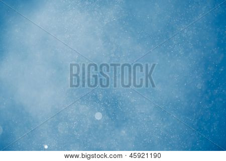 abstract blue mist background