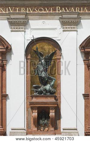 Saint Michael Defeats Satan