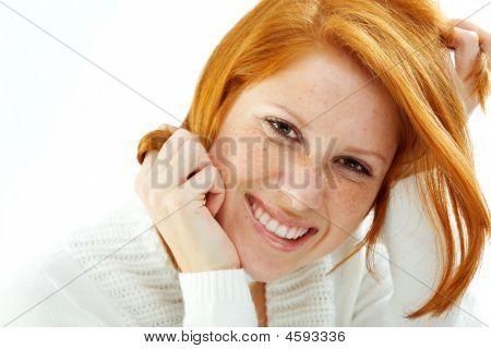 Funny Redhead