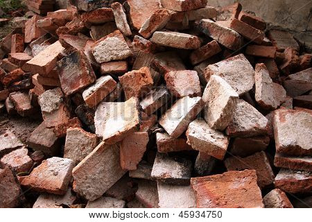 Collapsing bricks