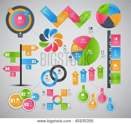 Infographic template business vector illustration