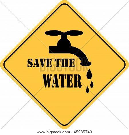 guardar la muestra de agua amarillo