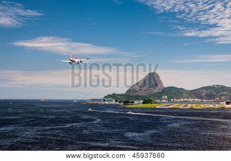 Final Approach At Rio De Janeiro
