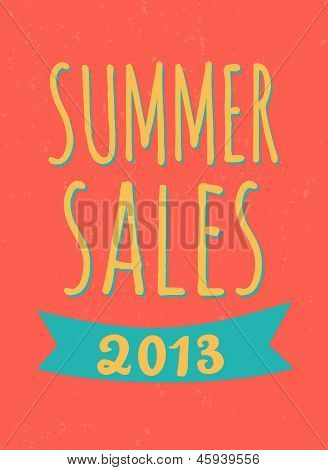 Summer Sales Poster
