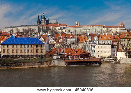 Prague Castle In The Czech Republic