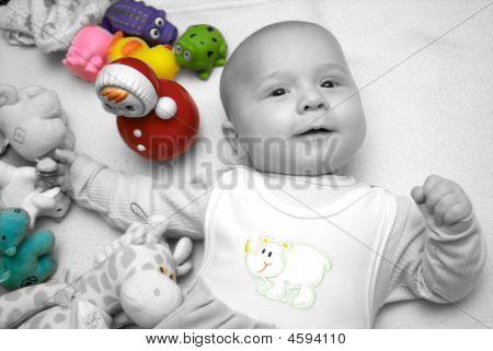 Joyful Baby Boy