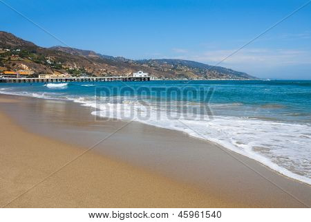 Malibu Lagoon State Beach in Malibu, California