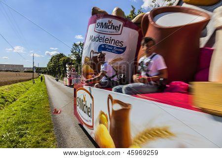 Publicity Caravan Action- Le Tour De France