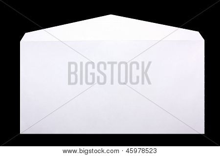 Envelope Isolated On Black Background