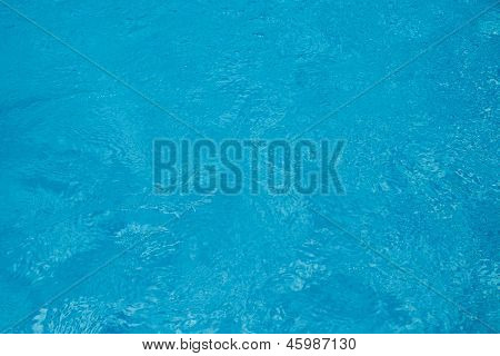Clear Blue Water Background