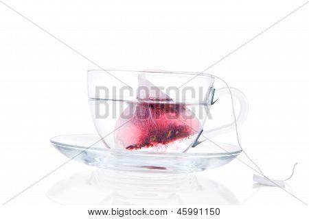 Delicious Hot Fruit Tea.
