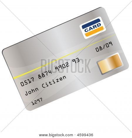Ilustración de la tarjeta de crédito