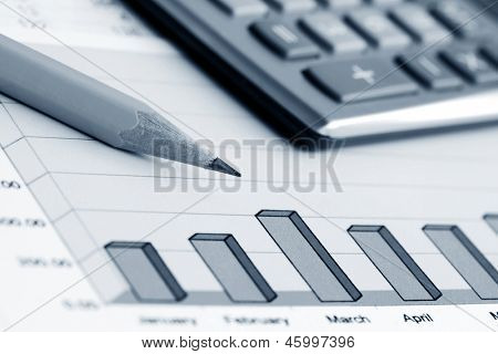 Financial graphs and accounting
