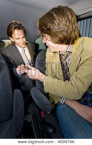 Paying The Cabbie