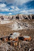 Route 66: Blue Mesa, Petrified Forest National Park, AZ