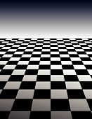 Checker Board Background - poster