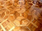 Ornate Wooden Floor