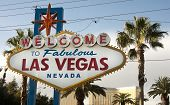 Welcome To Las Vegas Nevada Skyline City Limit Street Sign