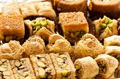 stock photo of phyllo dough  - baklava - JPG