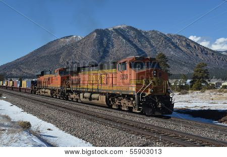 BNSF freight train