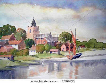 riverside town