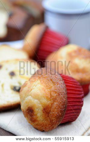Muffin With Banana Taste