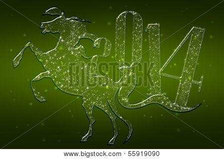 Sparkling Horse 2014