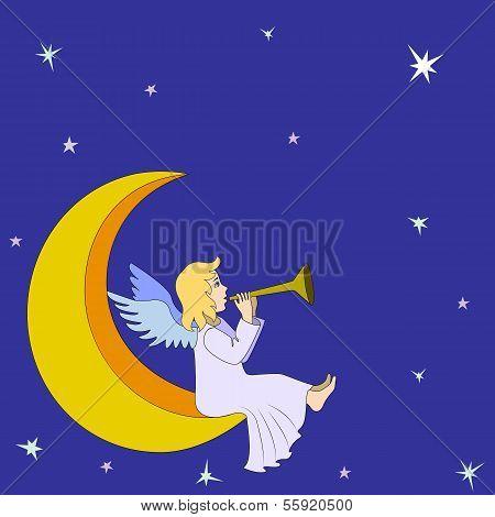 Christmas fairy angel