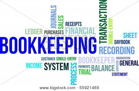 Word Cloud - Bookkeeping