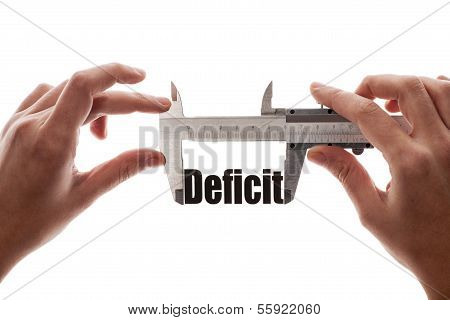 Defizit-Größe