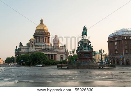 Saint Isaac's Cathedral And Nicolas