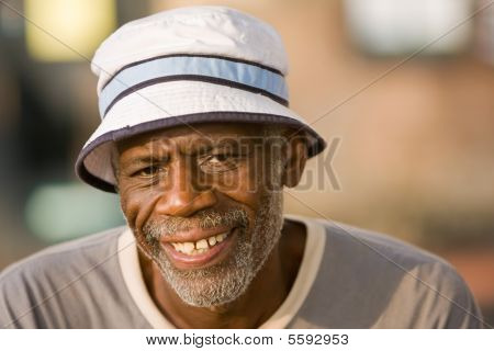 Retired Man Smiling