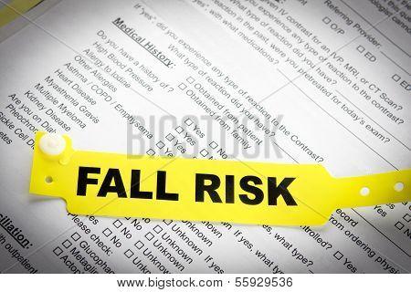 Fall Risk Patient Bracelet