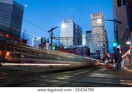 Calgary transit C-train
