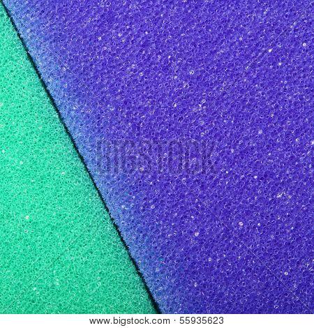 Colorful Texture Cellulose Foam Sponge Background
