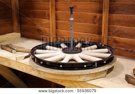 Repair Wooden Wheel