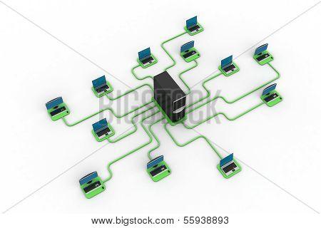 Computer-Rechenzentrum