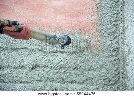 The Process Of Automatically Applying Plaster