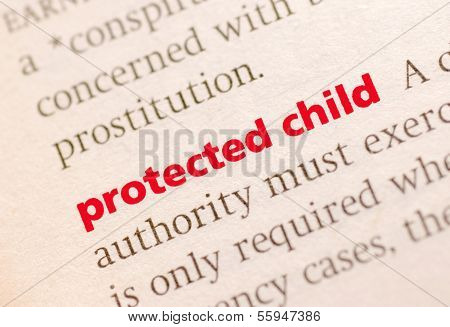 Definition Of Protected Child