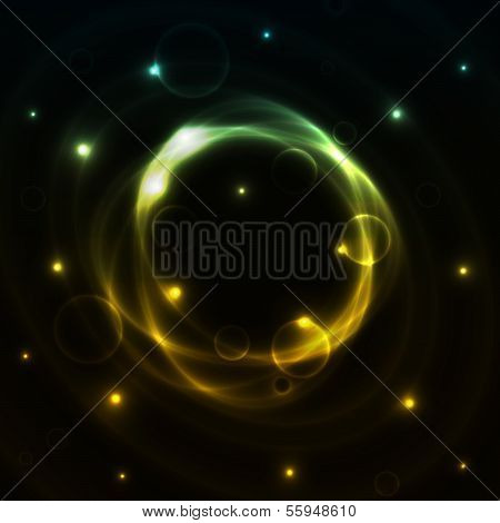 the outer space background