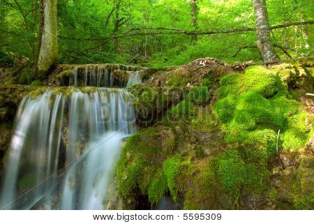 Waterfall stream
