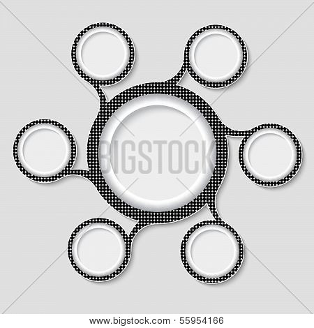 Associated Circular Frames With Grid