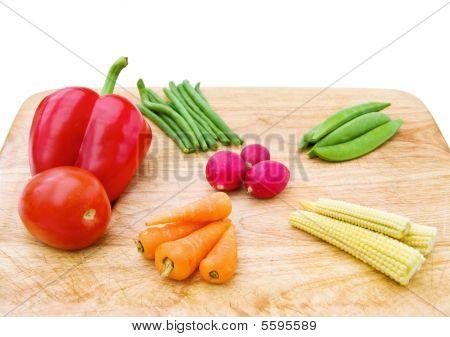 Fresh vegetables mix