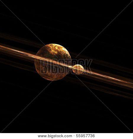 Deep Space Planetary Fractal