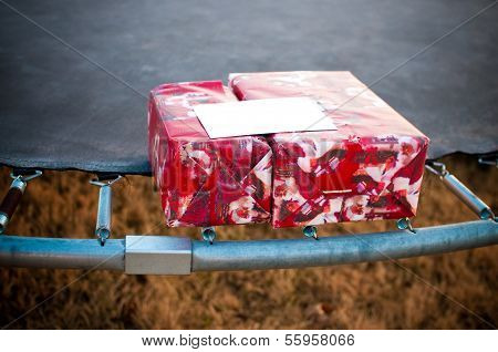 Gifts On A Trampoline