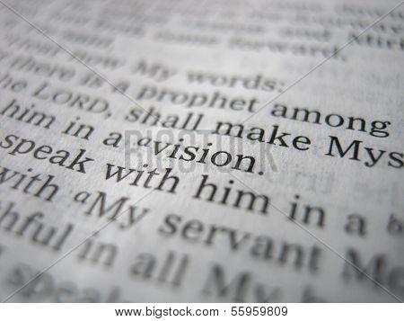 Vision Scripture
