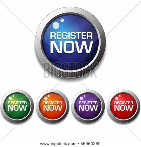Register Now Button Icon