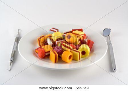 Candy-Mahlzeit