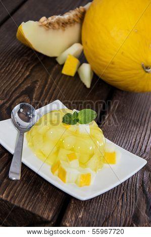 Fresh Made Honeydew Jello