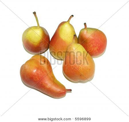 Pears In Group